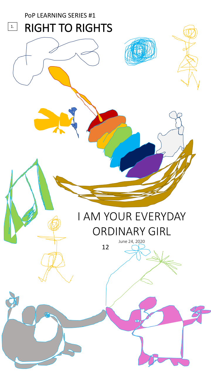 12. I Am Your Everyday Ordinary Girl